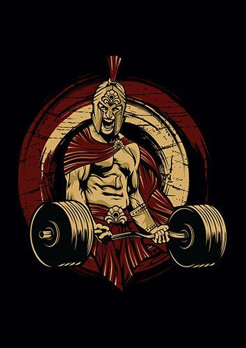 Spartan gym us - From £17.50 | Metal Plate Pictures