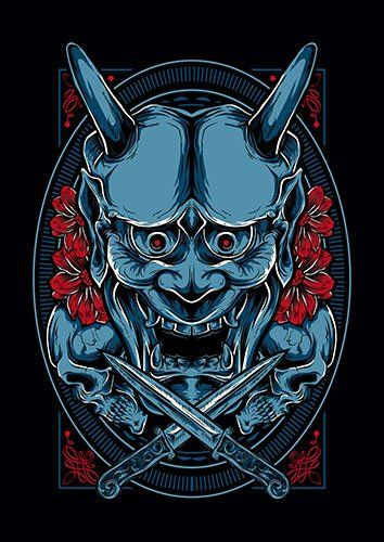 Hannya TA - From £17.50 | Metal Plate Pictures