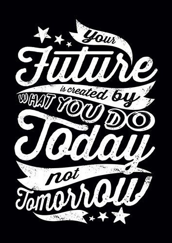 Today not tomorrow lou - From £17.50 | Metal Plate Pictures
