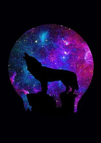 Space howl lou - From £17.50 | Metal Plate Pictures
