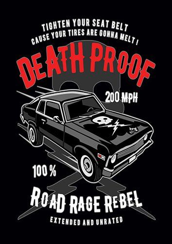 Death proof nad - From £17.50   Metal Plate Pictures