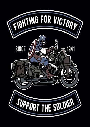 Fighting for victory nad - From £17.50 | Metal Plate Pictures