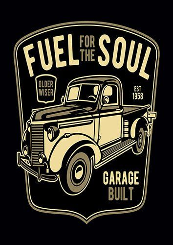 Fuel for the soul nad - From £17.50 | Metal Plate Pictures