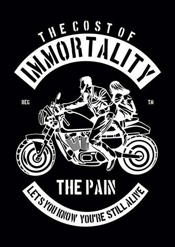 Immortality nad - From £17.50   Metal Plate Pictures