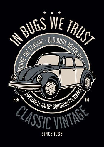 In bugs we trust nad - From £17.50 | Metal Plate Pictures
