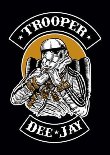 Trooper Dee Jay E, Sandy\Brown\Blue\Mix colour, X-Large A1 24x36Inch size - From £17.50   Metal Plate Pictures