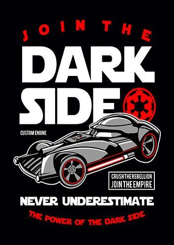 Join the dark side nad - From £17.50 | Metal Plate Pictures