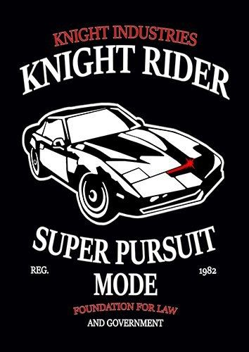 Knight rider nad - From £17.50 | Metal Plate Pictures