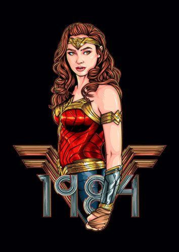 Wonder Woman 1984 Dlo, Sandy\Brown\Blue\Mix colour, X-Large A1 24x36Inch size - From £17.50 | Metal Plate Pictures