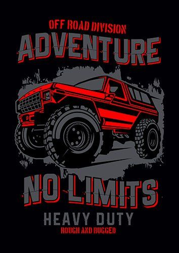 No limits adventure nad - From £17.50 | Metal Plate Pictures