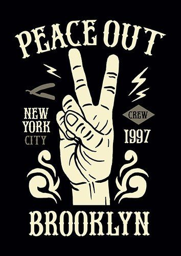Peace out nad - From £17.50 | Metal Plate Pictures