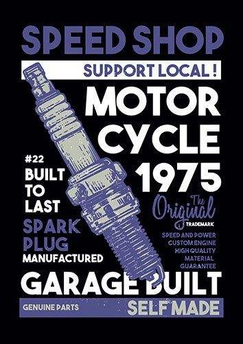 Spark plugs 2 nad - From £17.50 | Metal Plate Pictures