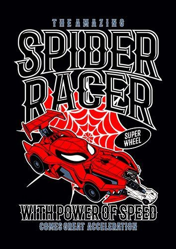 Spider racer nad - From £17.50 | Metal Plate Pictures