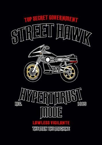 Street hawk nad - From £17.50   Metal Plate Pictures