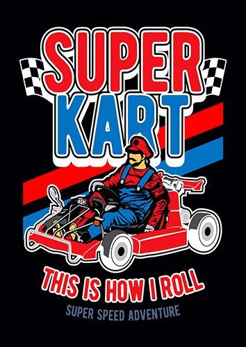 Super kart nad - From £17.50 | Metal Plate Pictures