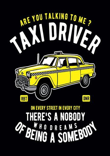 Taxi driver nad - From £17.50 | Metal Plate Pictures