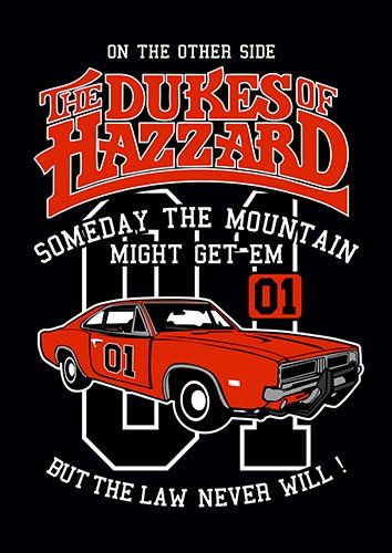 The dukes of hazzard nad - From £17.50 | Metal Plate Pictures