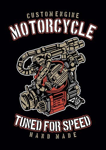 Tuned for speed nad - From £17.50 | Metal Plate Pictures