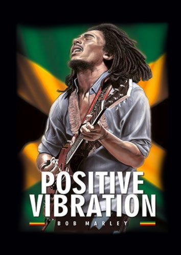 Posative Vibration Bob Marly Reggae Music Rasta Singer 114 Rock, Sandy\Brown\Blue\Mix colour, X-Large A1 24x36Inch size - From £17.50 | Metal Plate Pictures