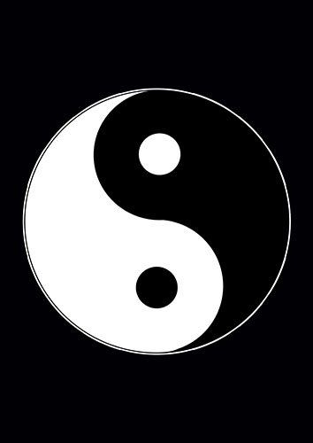Yin Yang Asian Harmony Symbol Culture Chinese - From £17.50 | Metal Plate Pictures