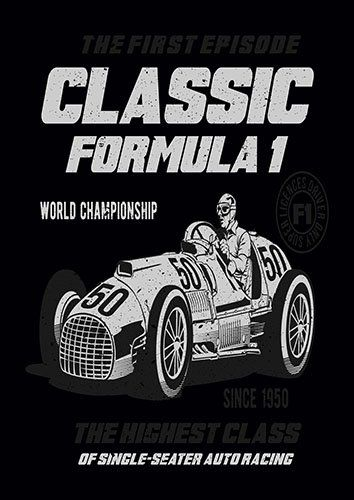Classic F1 BB - From £17.50 | Metal Plate Pictures