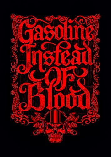 Gasoline instead of blood cer - From £17.50 | Metal Plate Pictures