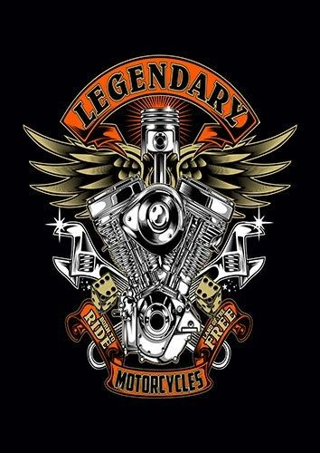 Legendery Motorcycles CK - From £17.50 | Metal Plate Pictures