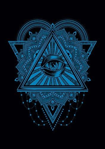 All Seeing Eye Blue CD - From £17.50 | Metal Plate Pictures