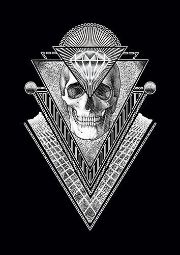 Diamonnt Skull CD - From £17.50 | Metal Plate Pictures
