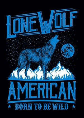 Lone Wolf Blue CD - From £17.50 | Metal Plate Pictures