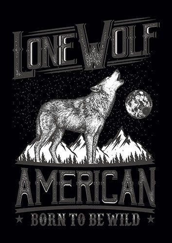 Lone Wolf BW CD - From £17.50 | Metal Plate Pictures