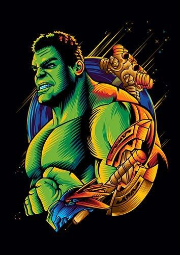 Hulk - From £17.50 | Metal Plate Pictures