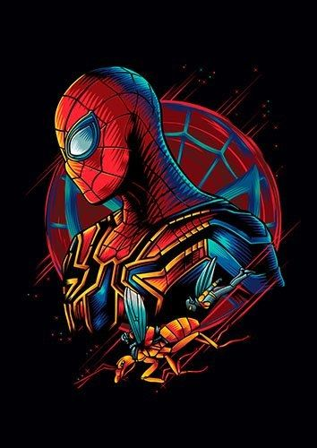 Spidey Spiderman  - From £17.50 | Metal Plate Pictures
