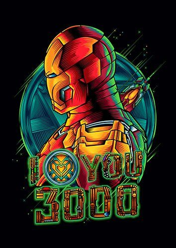 Ironman 3000 - From £17.50 | Metal Plate Pictures