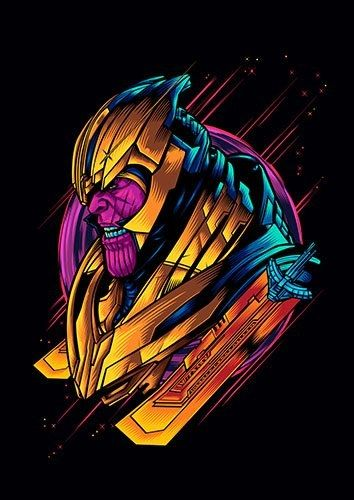 Thanos Endgame - From £17.50 | Metal Plate Pictures