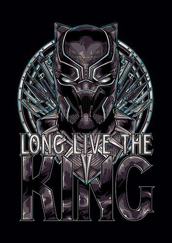 Black Panther combined - From £17.50 | Metal Plate Pictures