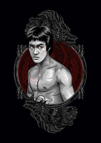 Bruce Lee - From £17.50 | Metal Plate Pictures