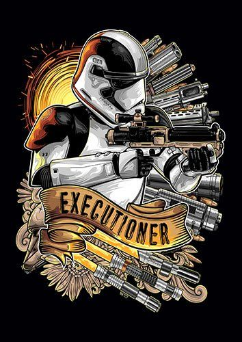 Executioner Trooper - From £17.50 | Metal Plate Pictures