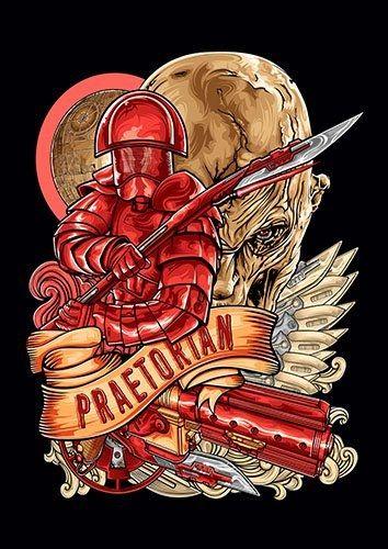 Elite Praetorian Guard Fathead - From £17.50 | Metal Plate Pictures