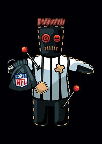 NFL Voodoo - From £17.50 | Metal Plate Pictures