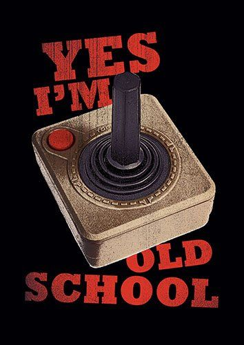 Old School Retro Joystick lo - From £17.50   Metal Plate Pictures
