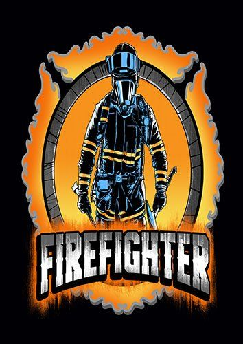 Fireman First In Last Out kla - From £17.50 | Metal Plate Pictures