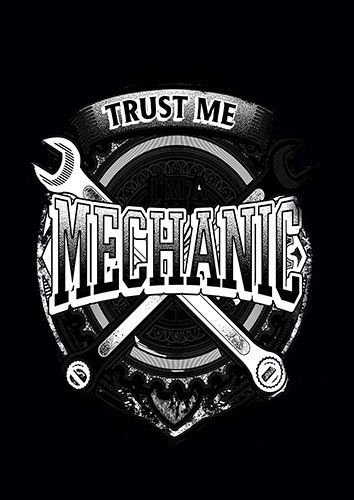 Trust Me I Am A Mechanic kla - From £17.50 | Metal Plate Pictures