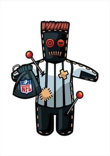 Nfl Voodoo White Dlo, Black colour, X-Large A1 24x36Inch size - From £17.50 | Metal Plate Pictures