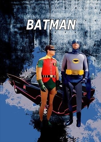 Batman car, Black colour - From £17.50 | Metal Plate Pictures