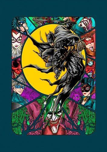 Batman Ninja V2, Black colour - From £17.50 | Metal Plate Pictures
