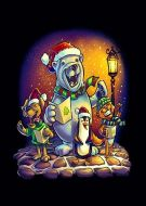 Christmas Carolers bear Penguin