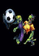 football kick zombie