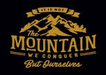 It's Not The Mountain We Conquer But Ourselves DW
