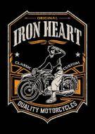 Iron Heart Biker Poster